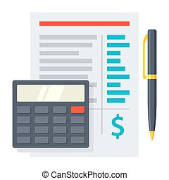 Budgeting Vector Icon