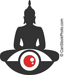 budha, illustration, religion