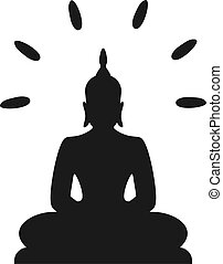 Budha symbol illustration