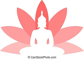 budha, symbole, gentil