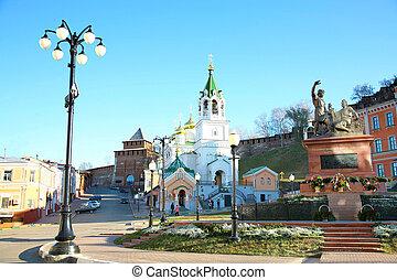 budi keresztelő, templom, alatt, nizhny novgorod, oroszország