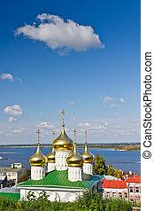 budi keresztelő, templom, nizhny novgorod, oroszország