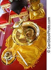 budista, ceremony.