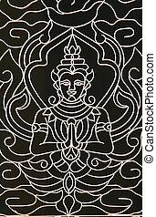 budista, diseño