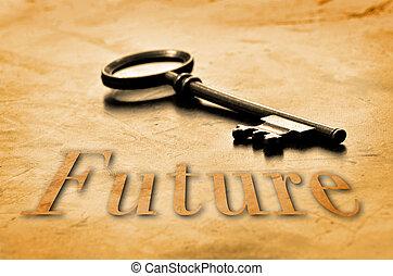 budoucí, klapka