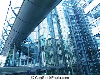 budova, futuristický
