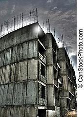 budova, opuštěný