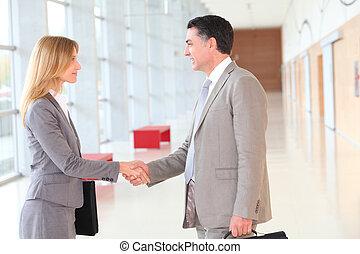 budova, spolutanečnice, moderní, setkání, povolání
