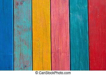 budowa drewna, barwiony, pasy, barwny, meksykanin