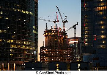 budowa zbudowanie, pod