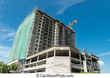budowa zbudowanie, umiejscawiać