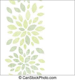 budowla, textured, abstrakcyjny, liście, pionowy, seamless, próbka, tło