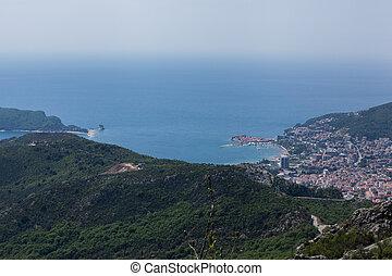 Budva Montenegro - coastal area
