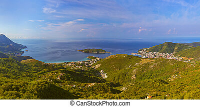 Budva riviera - Montenegro - nature travel background
