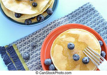 Bueberry pancakes