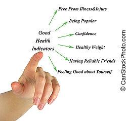 buena salud, indicatord