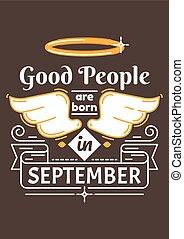bueno, gente, ser, nacido, en, septiembre