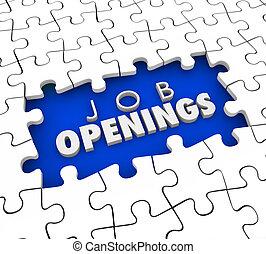 bueno, posiciones, empleados, vacante, postings, trabajo, ...