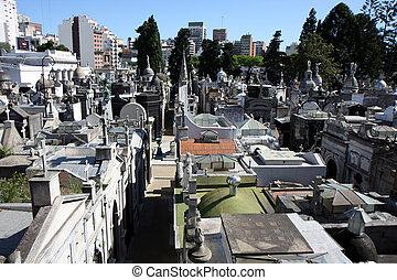 buenos aires, cimetière, au-dessus