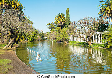 Buenos Aires parks - Downtown Buenos Aires parks in the...