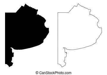 Buenos Aires Province map - Buenos Aires Province (Region of...