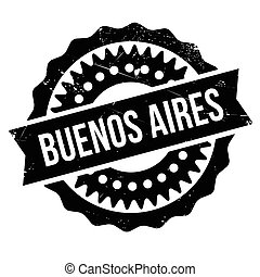 Buenos Aires stamp. Grunge design with dust scratches. ...