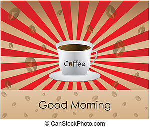 buenos días, café
