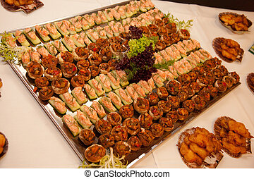 bufê, catering