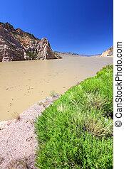 Buffalo Bill Reservoir Wyoming