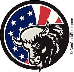 buffalo-head-angry-rt CIRC GR USA-FLAG