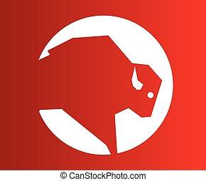 Buffalo Icon Design