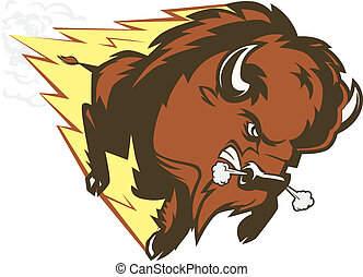 Buffalo Thunder - A large, angry, fast charging buffalo...
