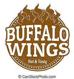 Buffalo Wings stamp