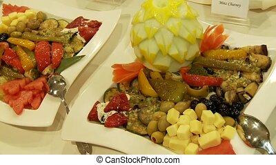 buffet, restauration