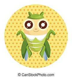 bug cartoon elements