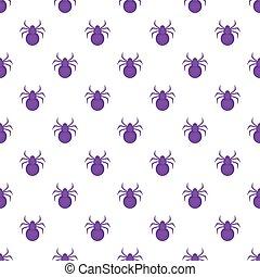 Bug pattern, cartoon style