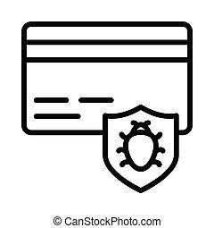 Bug Security atm card