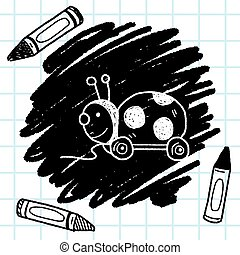 bug toy doodle