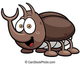 Bug - Vector illustration of cartoon bug