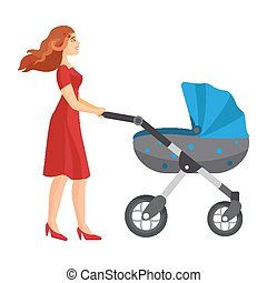 Buggy fit ultimate outdoor fitness class mother jogging with stroller