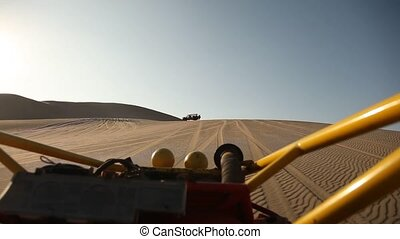 Buggy in Desert