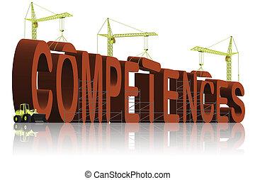 buiding, competences
