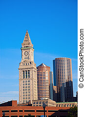 Buidlings in the center of Boston