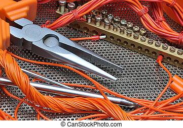 buigtang, elektrische component