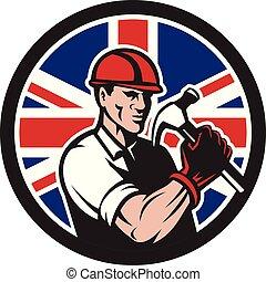 buiilder-carpenter-hold-hammer-frnt-CIRC UK-FLAG-ICON