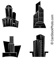 buil, nero, silhouette, collezione