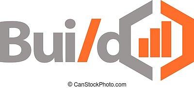 Build Business Logo Design Template Vector
