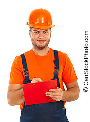Builder man write to a clipboard