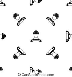 Builder pattern seamless black
