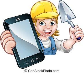 Builder Phone Concept